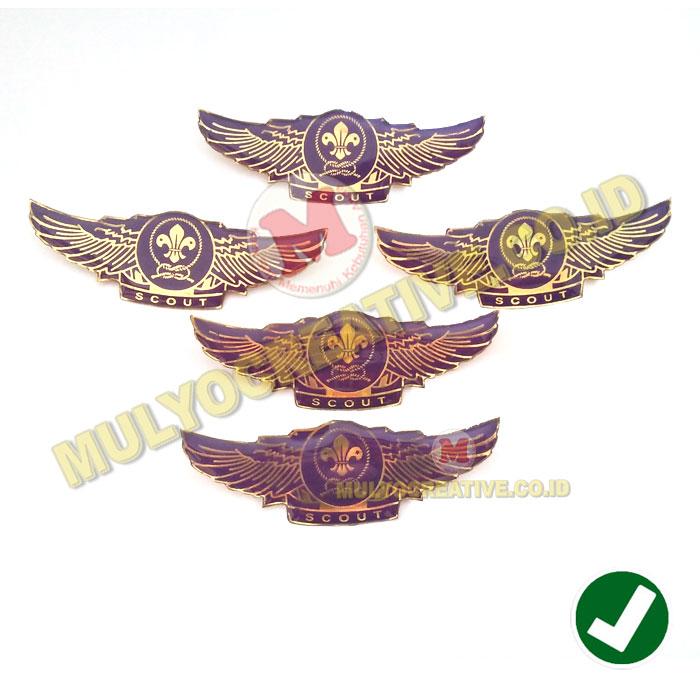 Jual Wing WOSM Pramuka Lencana Wing Pramuka Logo WOSM murah