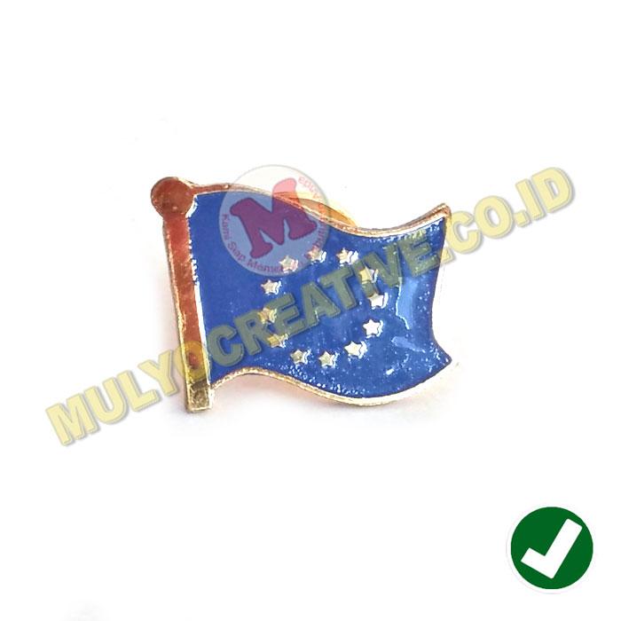 Flag Pin Eropa Pin Bendera Negara Uni Eropa Flag Pin Murah