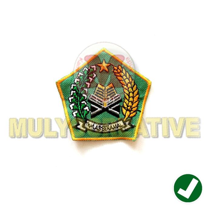 Jual Emblem Patch Bordir Logo Kementrian Agama