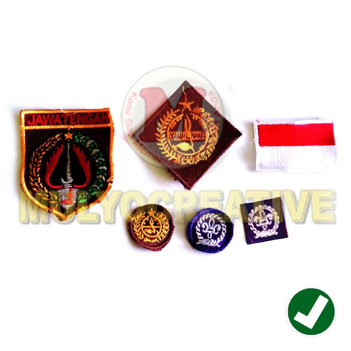 Jual Aksesoris Seragam Pramuka – Badge Bordir Seragam Pramuka Harga Murah