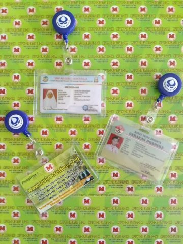 Model Casing ID Card + Sticker Logo