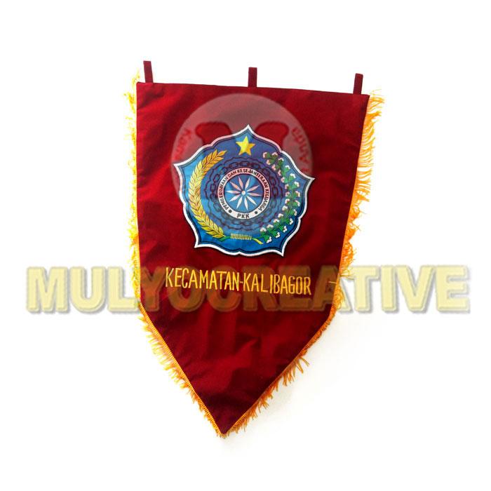 Jualan Panji Komunitas & Organisasi Desain Custom – Bendera Dharma Wanita Kecamatan Kalibagor Harga Murah