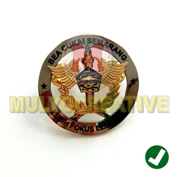 Beli Lencana Logo Bea Cukai Semarang Harga Murah