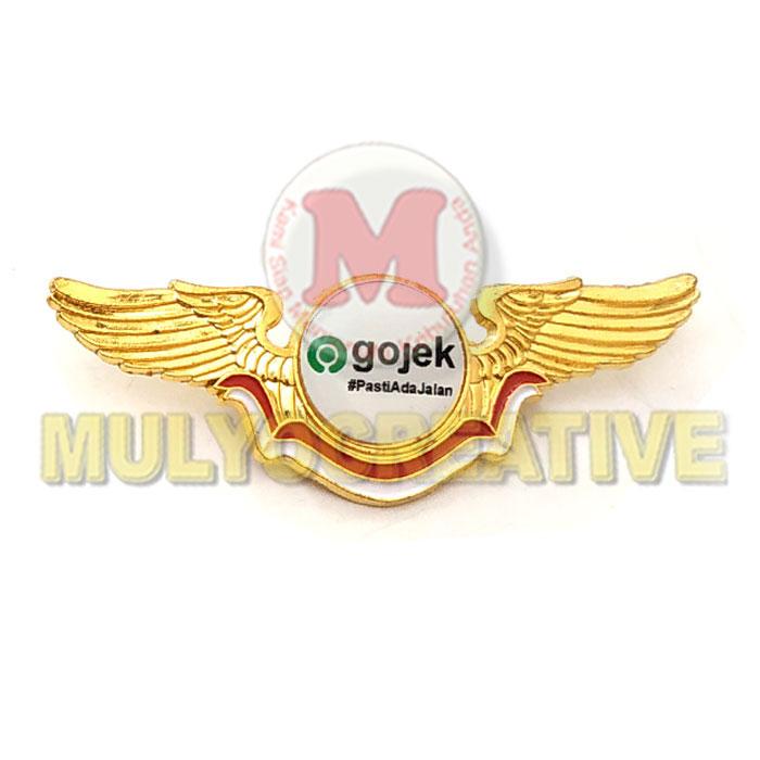 Order Pin Lencana Wing GOJEK Harga Murah