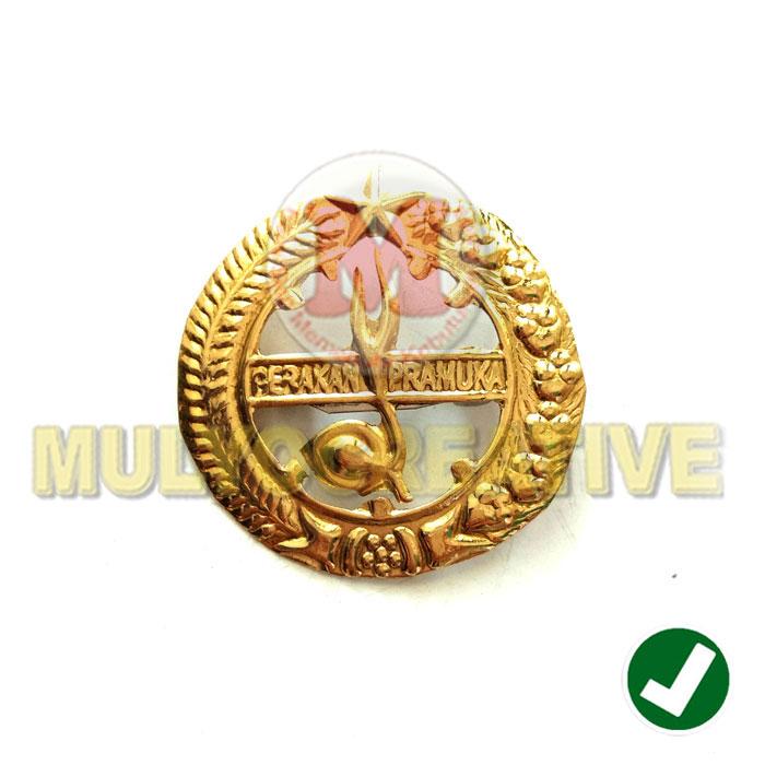 Jual Emblem Pramuka Penggalang, Penegak & Pandega Bahan Logam Harga Murah