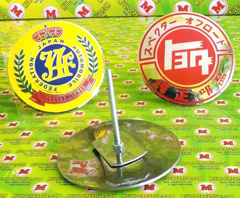 Emblem Grill JAF Japan Automobile Federation Custom
