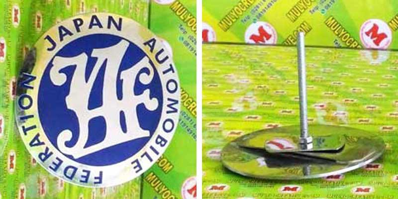 Emblem Grill JAF Japan Automobile Federation