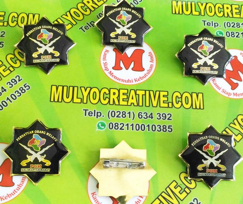 Pin Lencana Persatuan Orang Melayu, Logo POM, Atribut