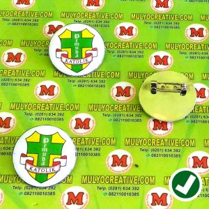 Pin Logo Pemuda Katolik bentuk bundar