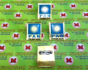 Pin PAN, Lencana Pin Partai PAN, Order dan Pesan sekarang juga di Mulyo Creative